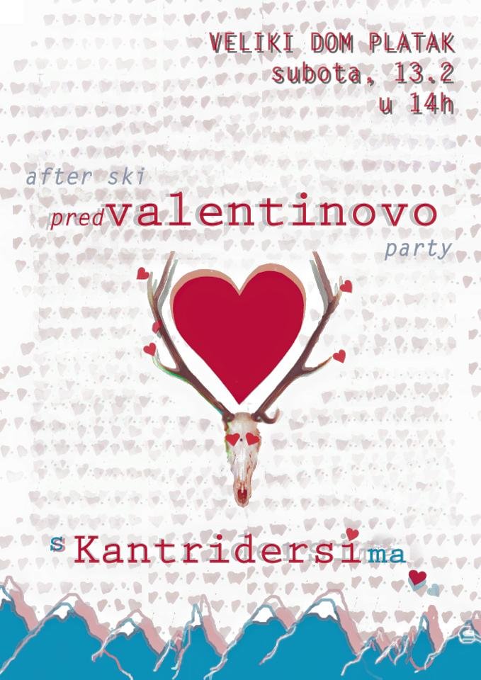After ski, pred Valentinovo party s Kantridersima!